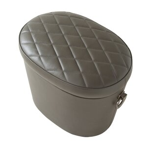 Lasky Leather Storage Ottoman