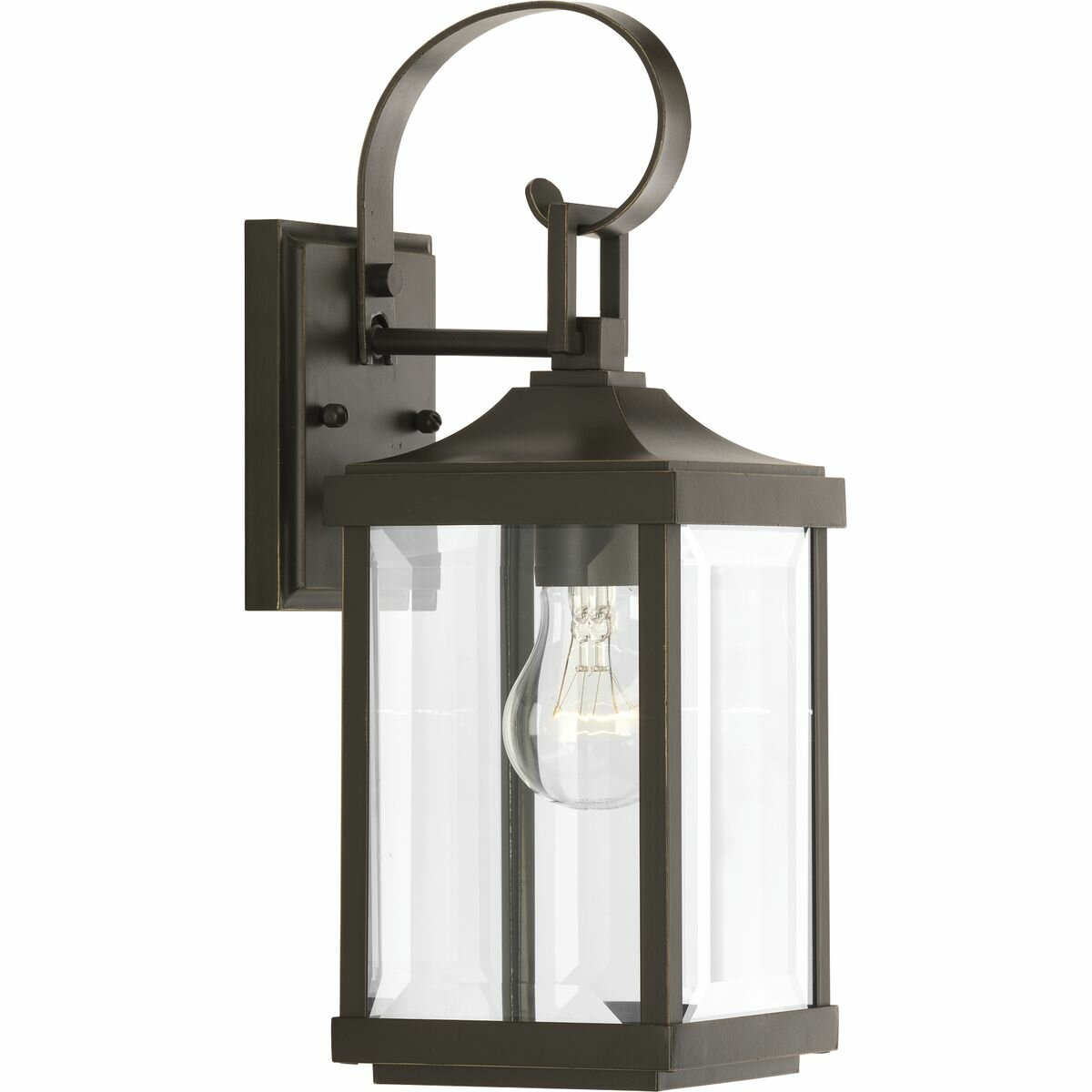 Birch Lane Agastya 1 Bulb 15 13 H Outdoor Wall Lantern Reviews Wayfair