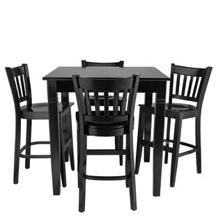Weinberg 5 Piece Pub Table Set..