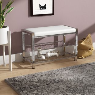 Best Choices Jimerson Metal Storage Bench By Zipcode Design