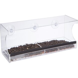 Trademark Innovations Window Tray Bird Feeder