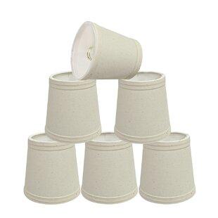 4'' Cotton Empire Lamp Shade (Set of 6)