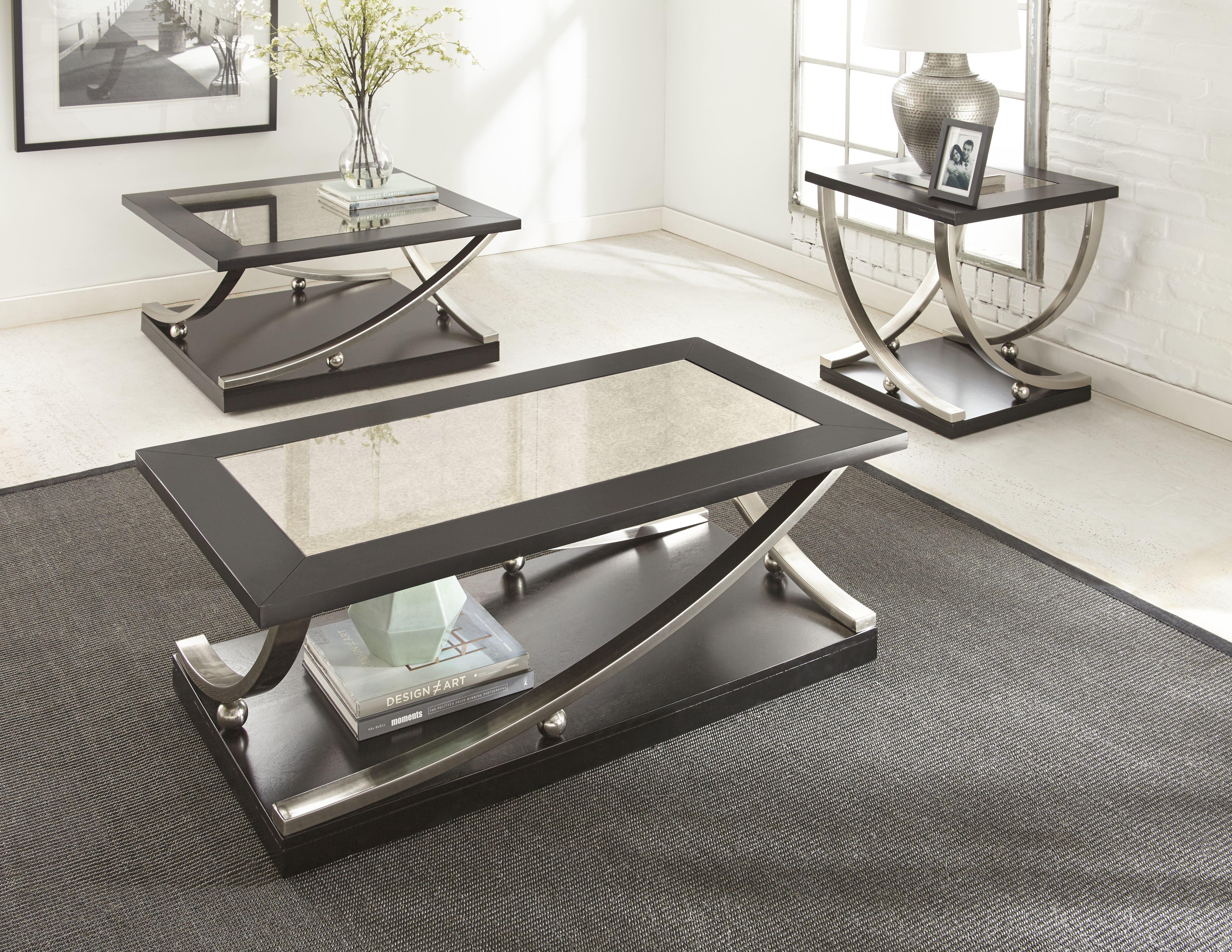 Slate Stone Coffee Table Sets Youll Love Wayfair