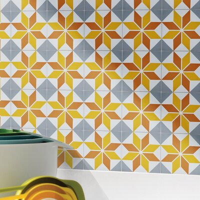 Assila 8 x 8 Cement Field Tile Moroccan Mosaic
