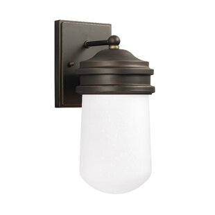 Find Irving 1-Light Outdoor Sconce By Breakwater Bay