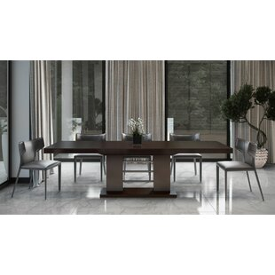Cheek Extendable Dining Table Orren Ellis