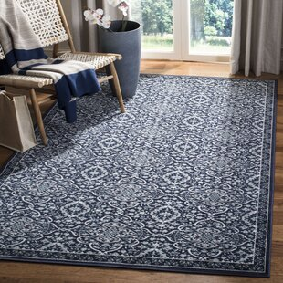 Griffeth Black/Gray Indoor/Outdoor Area Rug