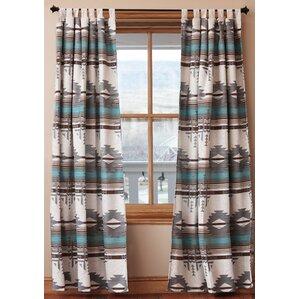 Ilene Curtain Panels  Set of 2 Turquoise And Brown Curtains   Wayfair. Brown And Turquoise Shower Curtain. Home Design Ideas