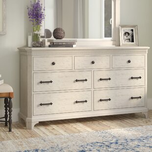 Lark Manor Turenne 7 Drawer Dresser