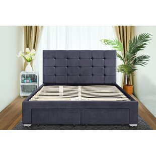 Compare Price Maci Upholstered Bed