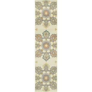 Buenrostro Ivory Indoor/Outdoor Area Rug