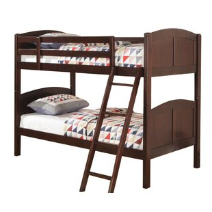 Harriet Bee Barneveld Bunk Bed with Euro Glides