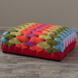Abidi Patch Ottoman by Bungalow Rose