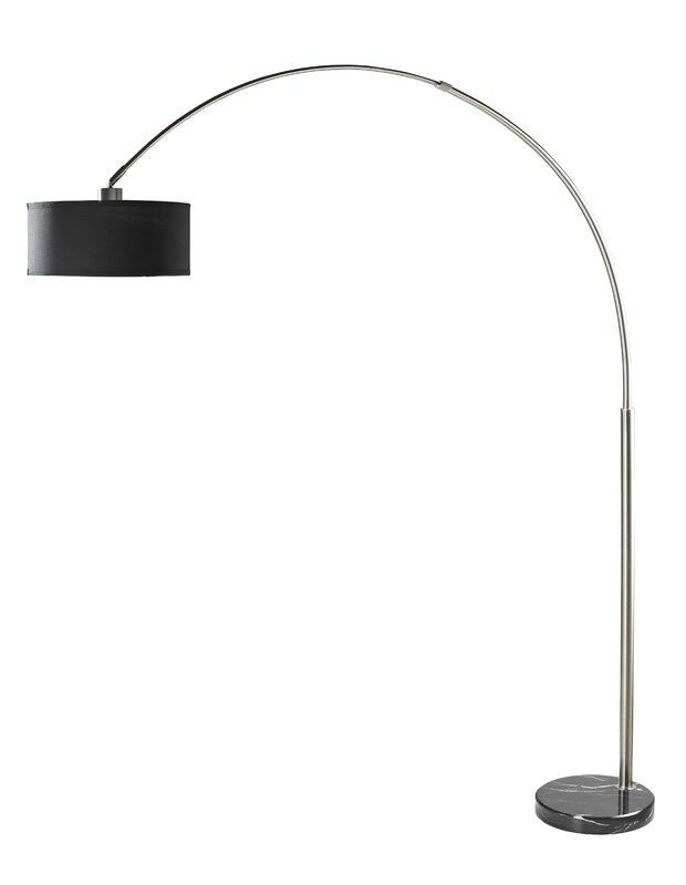 arched mills allmodern lamps reviews bowery andover lamp floor wayfair gladiola