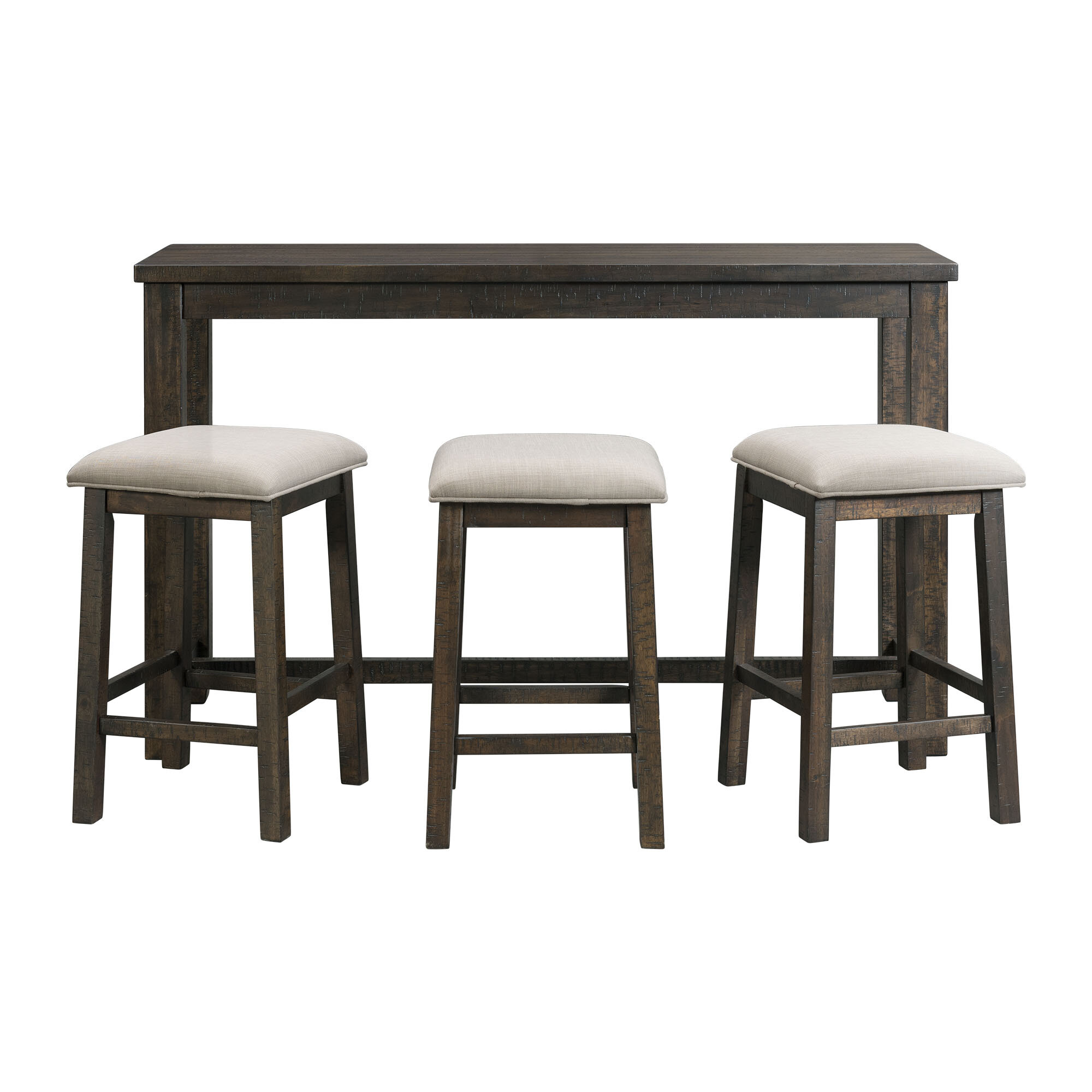 Miraculous Kentwood Multi Purpose 4 Piece Pub Table Set Interior Design Ideas Greaswefileorg