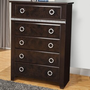 Borden 5 Drawer Chest by Everly Quinn