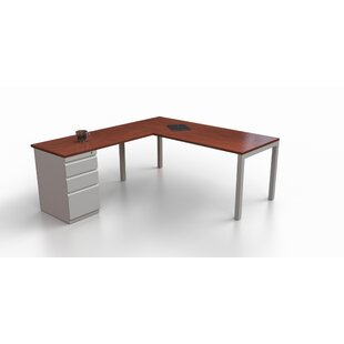 Trig L-Shape Corner Desk