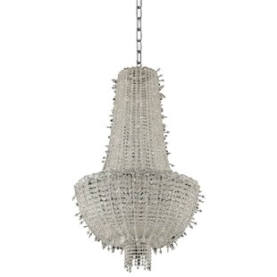 Cielo 12-Light Empire Chandelier by Allegri by Kalco Lighting