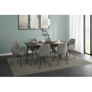 Corsair 7 Piece Solid Wood Dining Set 2019 Sale