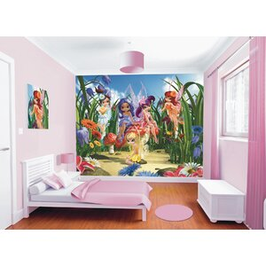 Walltastic Wall Art Magical Fairies Wall Mural