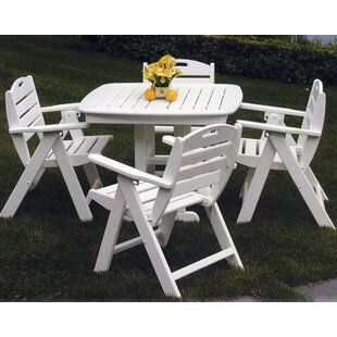 Nautical 5 Piece Dining Set