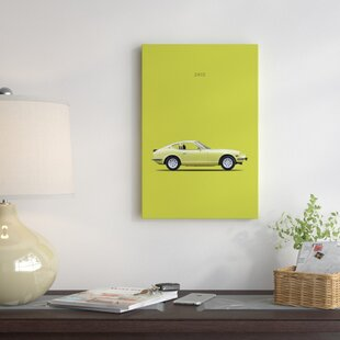 '1969 Datsun 240Z' Graphic Art Print on Canvas By East Urban Home