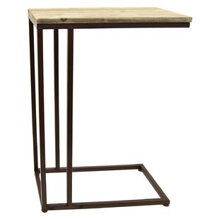Scharf Wood/Metal Console Table by Gracie Oaks