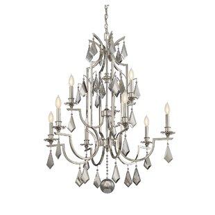 House of Hampton Beselare 9-Light Chandelier