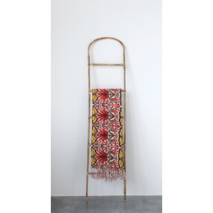 Decorative Bamboo 5 ft Blanket Ladder by Bay Isle Home