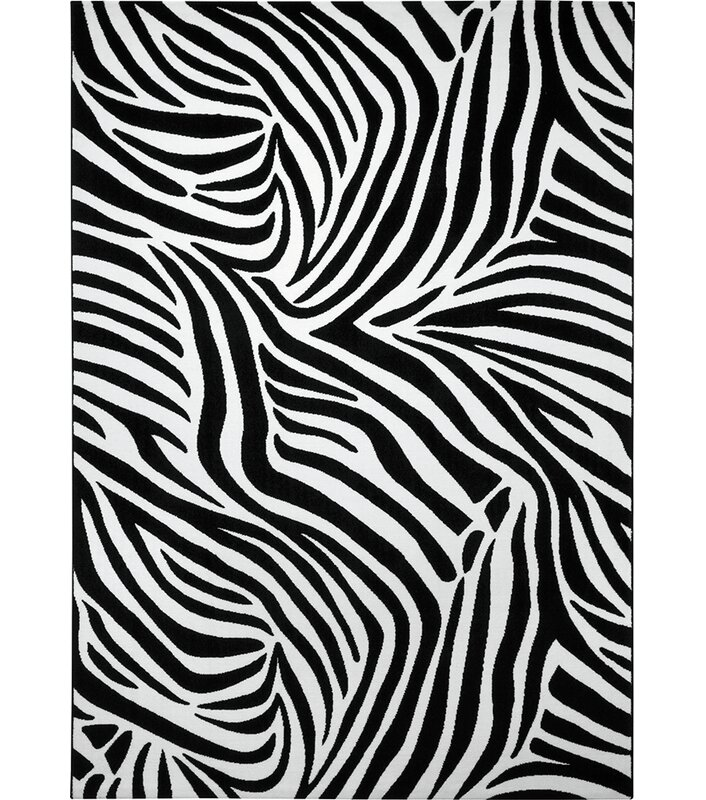 zebra area rug. Zebra Area Rug In Black And White