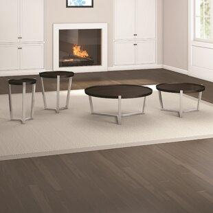 Caravel Cirque 4 Piece Coffee Table Set