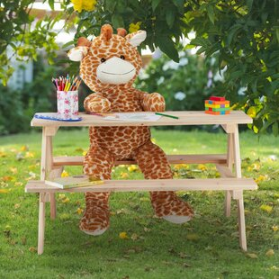 Hagan Children's Picnic Table By Harriet Bee