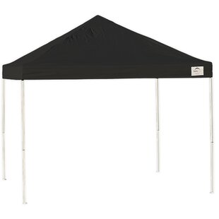 10 Ft. W x 10 Ft. D Steel Pop-Up Canopy by ShelterLogic