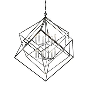 Pederson 12-Light Geometric Chandelier by Brayden Studio