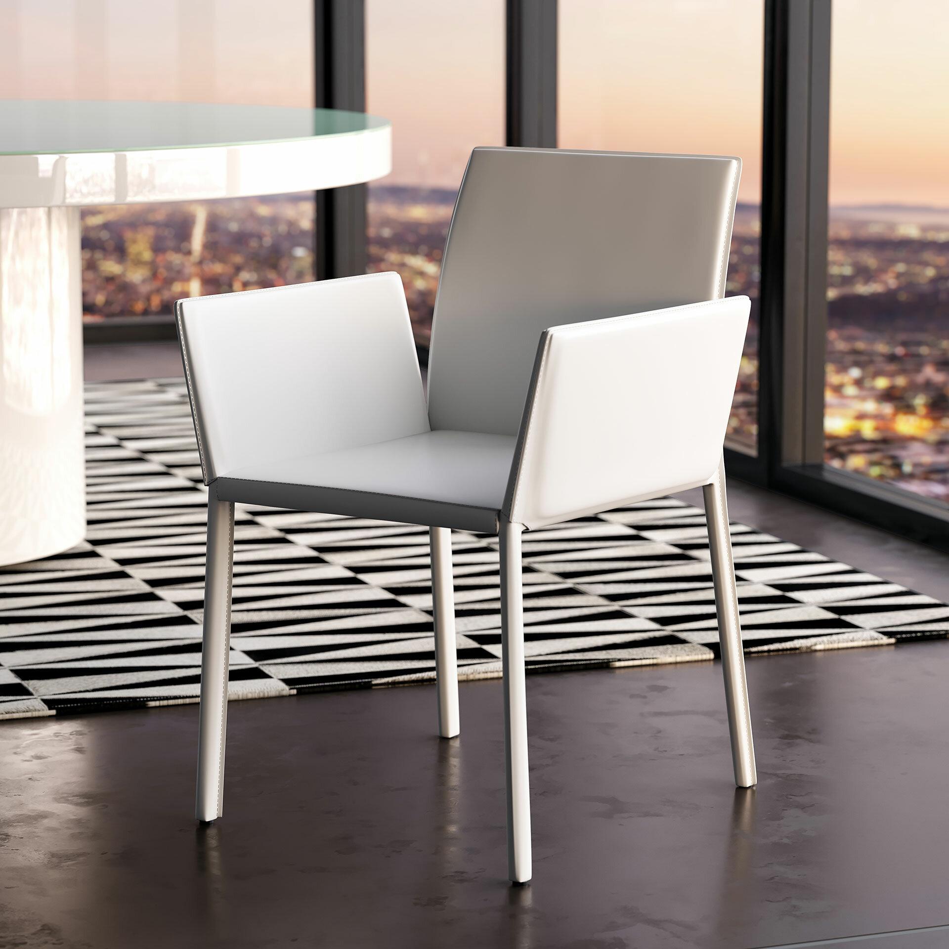 Swell Sanctuary Arm Upholstered Dining Chair Short Links Chair Design For Home Short Linksinfo