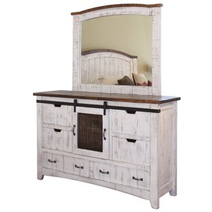 Gracie Oaks Coralie 6 Drawer Dresser