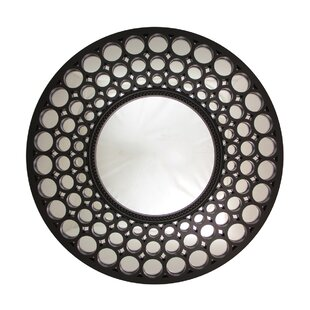 Round Mirror Black Frame Wayfair