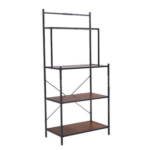 Gracie Oaks Magallanes Iron Baker's Rack