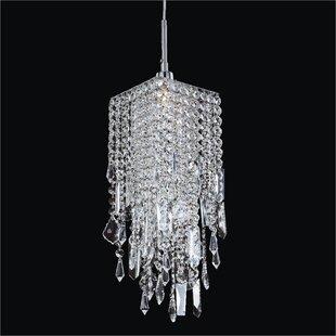 Everly Quinn Cohen-Arazi 1-Light Crystal Pendant