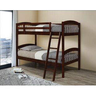 Edgemont Twin Over Twin Bunk Bed by Harriet Bee