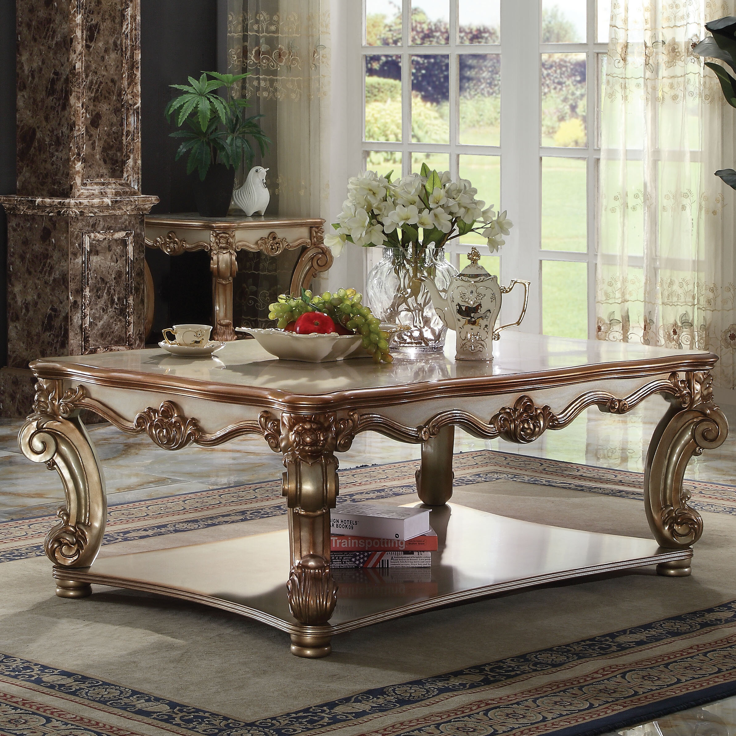 Picture of: Astoria Grand Welles Coffee Table With Storage Reviews