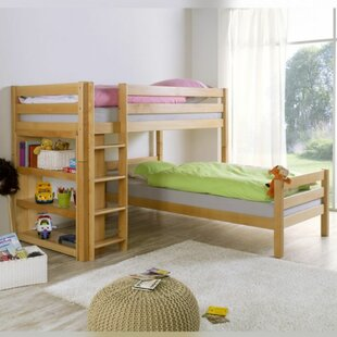 Jaquelin European Single Bunk Bed By Harriet Bee