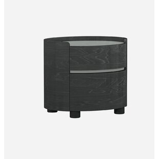 Shirely 2 Drawer Nightstand by Orren Ellis