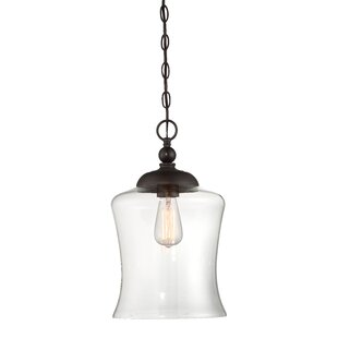 Charlton Home Gammons 1-Light Bell Pendant