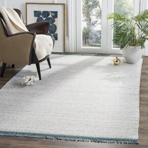 Sojourn Hand-Woven Gray/Blue Area Rug