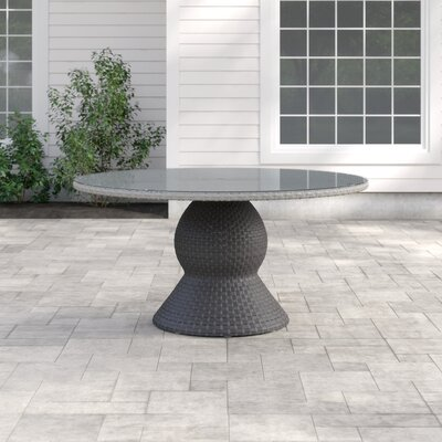 Romford Round 30 Inch Table by Sol 72 Outdoor New