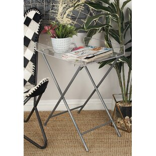 Jabes Metal and Acrylic Tray Table