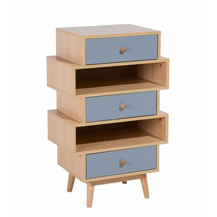 Villalpando 3 Drawer Accent Chest by Wrought Studio