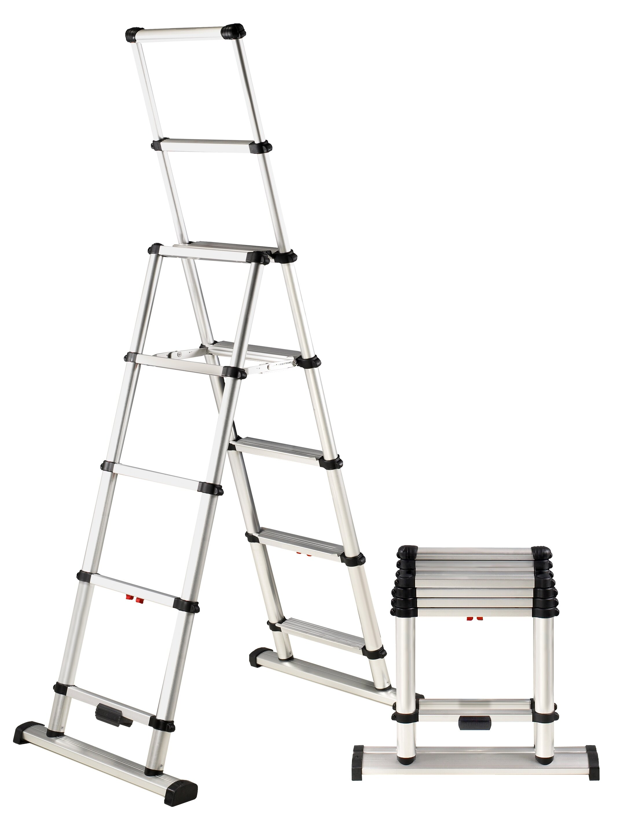Telesteps Combination 10 Ft Aluminum Step Ladder With 375 Lb Load Capacity Wayfair