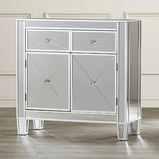 Willa Arlo Interiors Lavinia 2 Drawer Accent Cabinet
